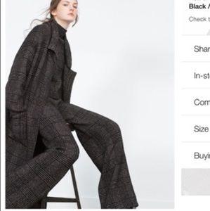 Zara wide pants M